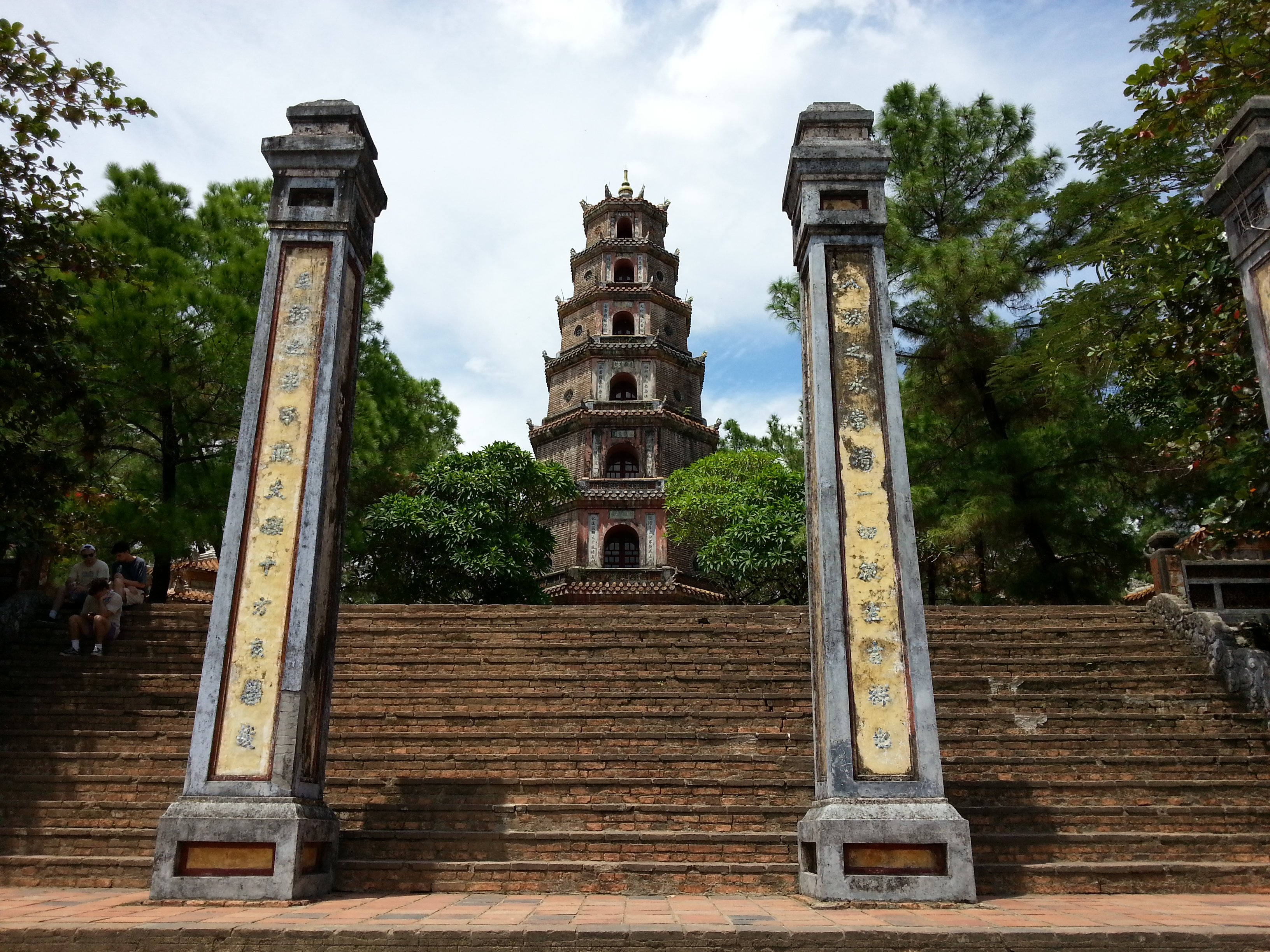 Pagoda of the Celestial Lady in Hue