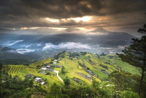 Rice terraces of Ha Giang