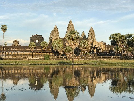 Angkor Wat is very close to Siem Reap