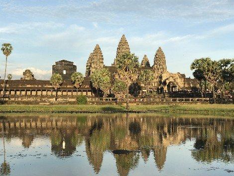 Angkor Wat is very close to Siem Reap