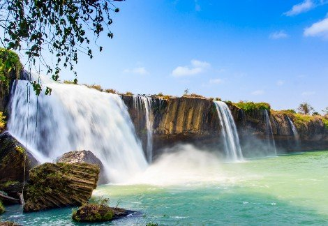 Dray Nur Waterfall in Dak Lak Province