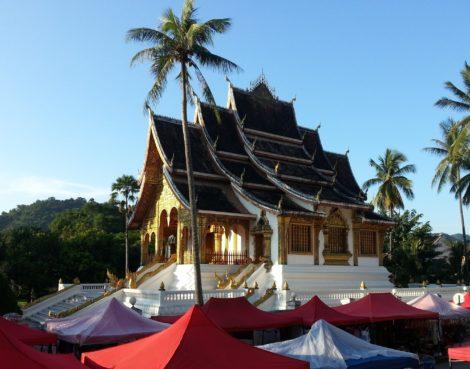 Haw Pha Bang temple in Luang Prabang