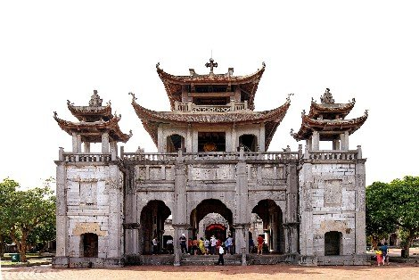 Phat Diem Cathedral in Ninh Binh Province