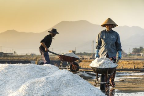 Hon Khoi Salt Fields