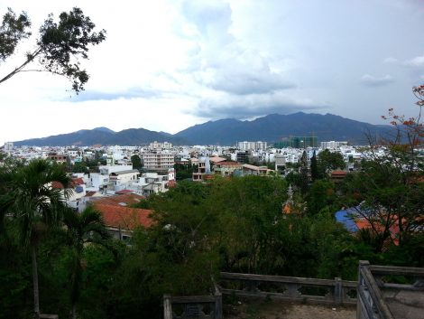 View from Long Son Pagoda