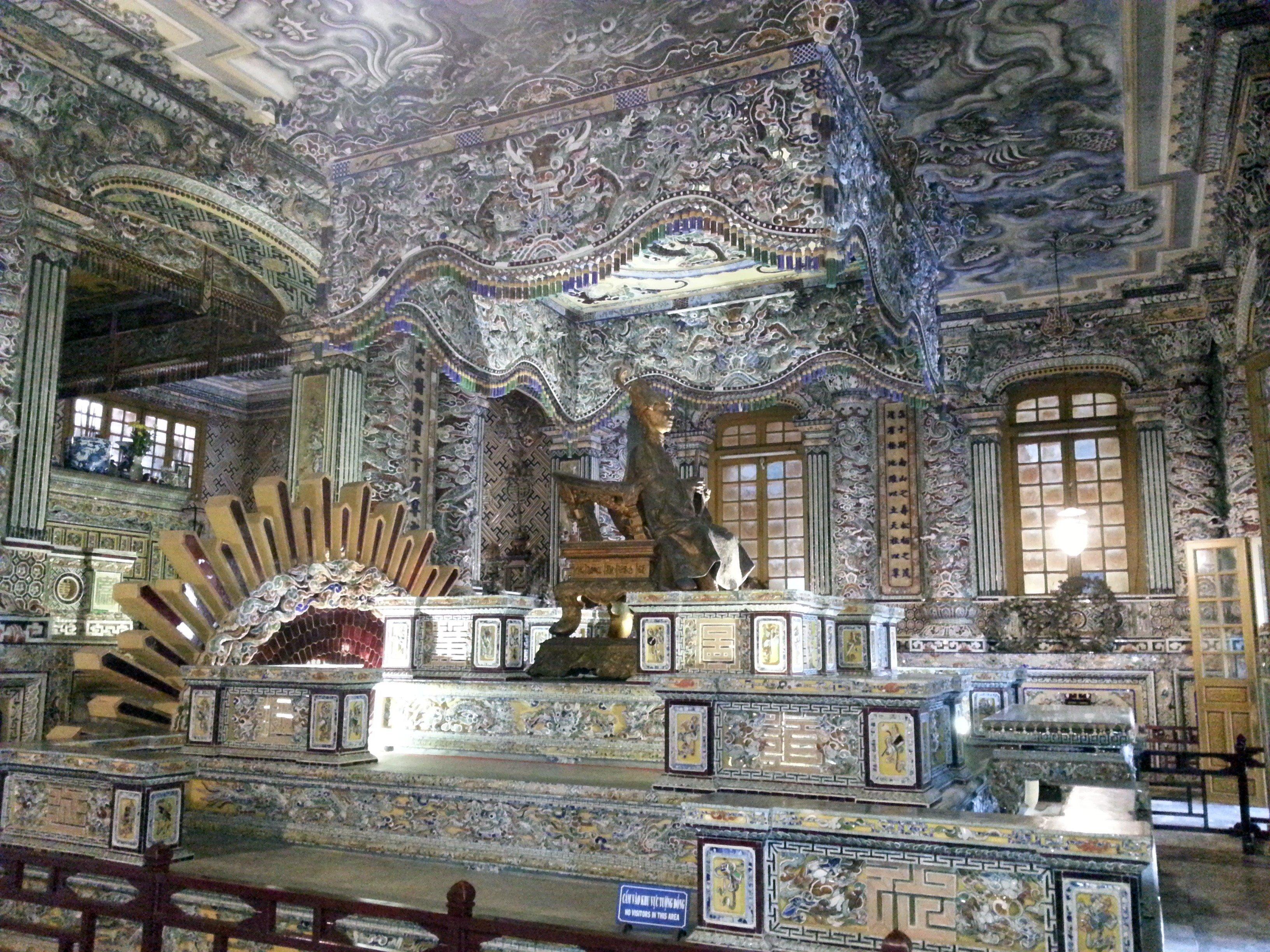 Emperor Khai Dinh's Crypt