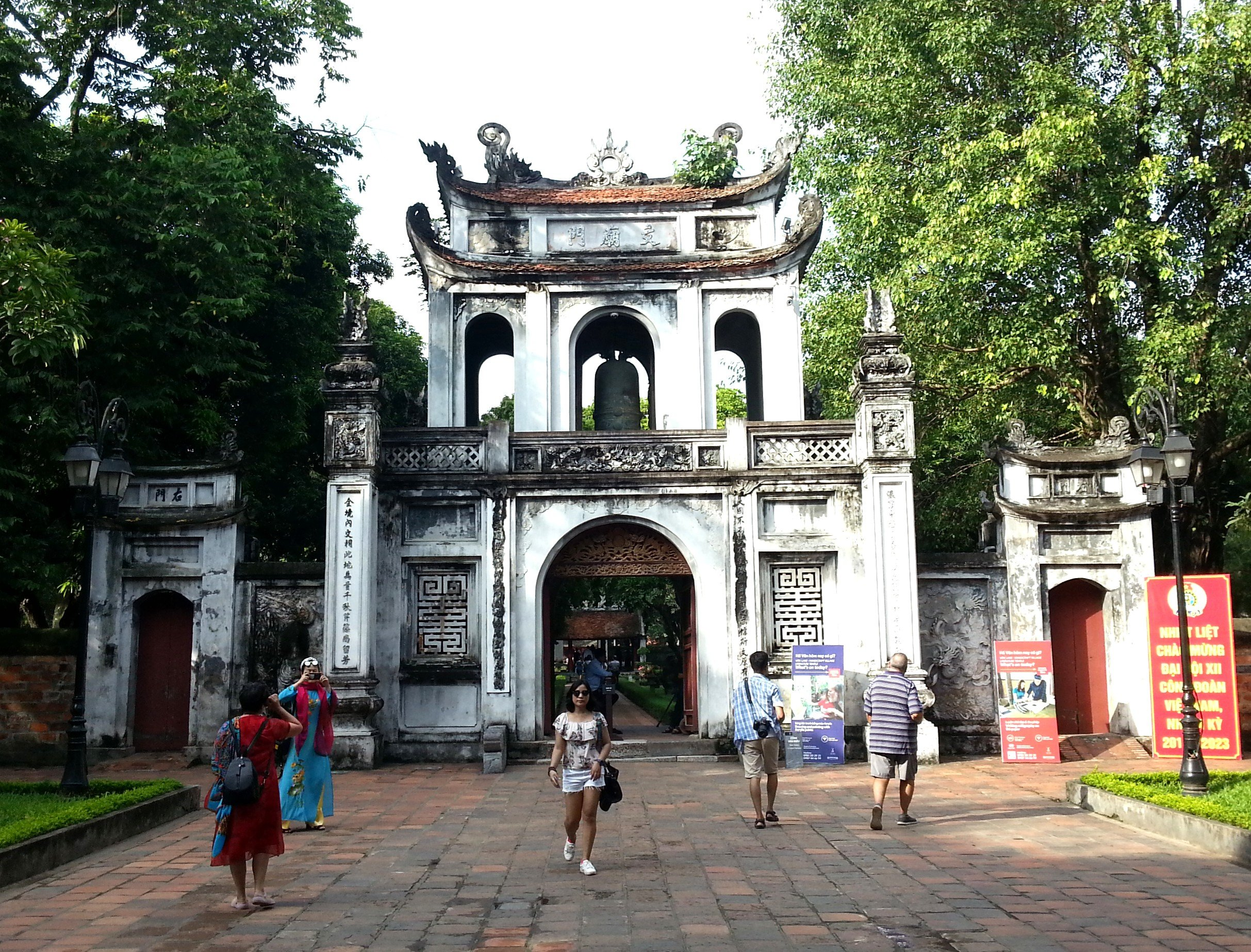 Main gate to the Temple of Literature