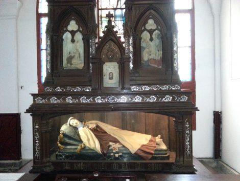 Shrine to St Mary