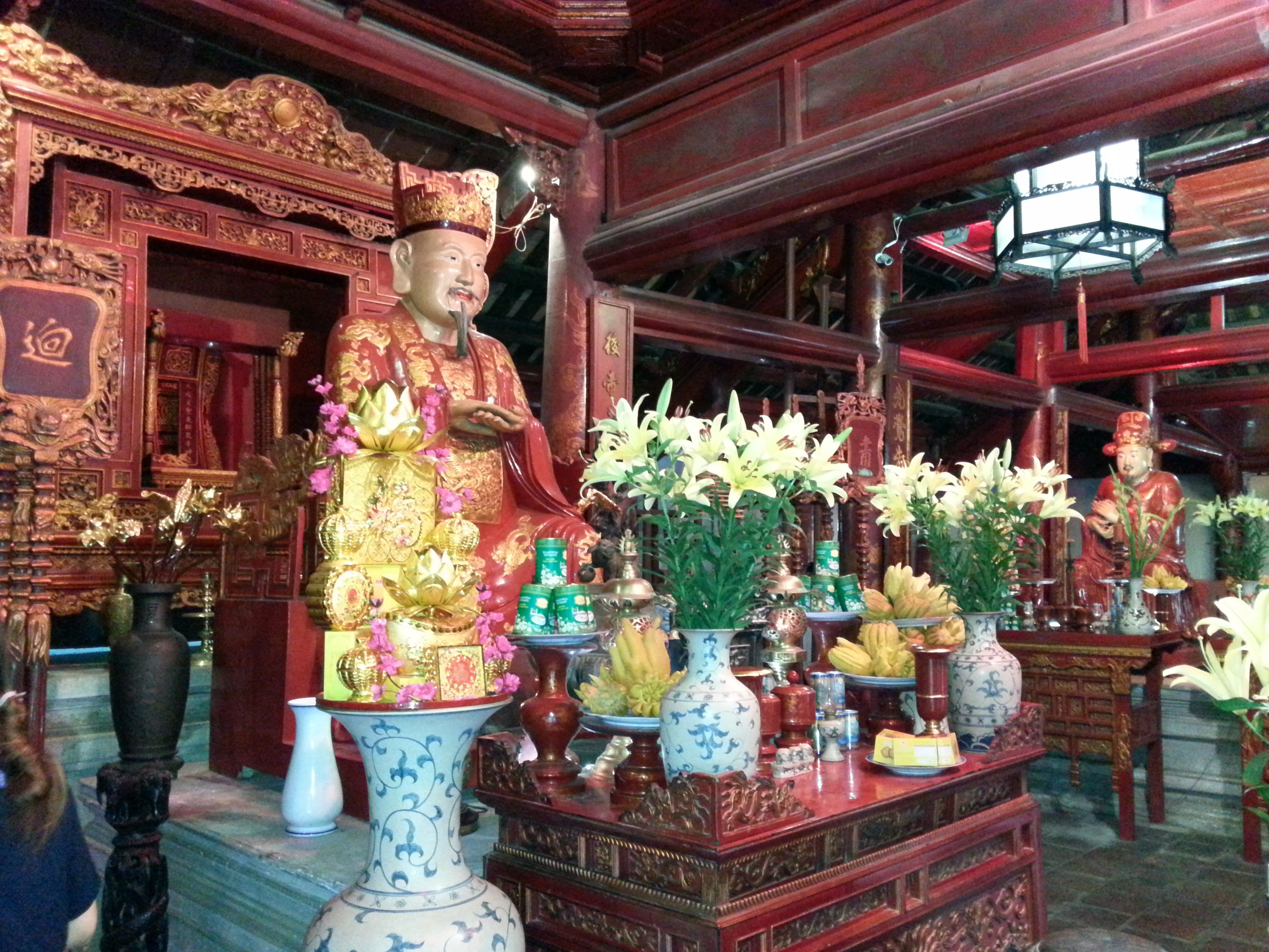 Shrine to the disciples of Confucius
