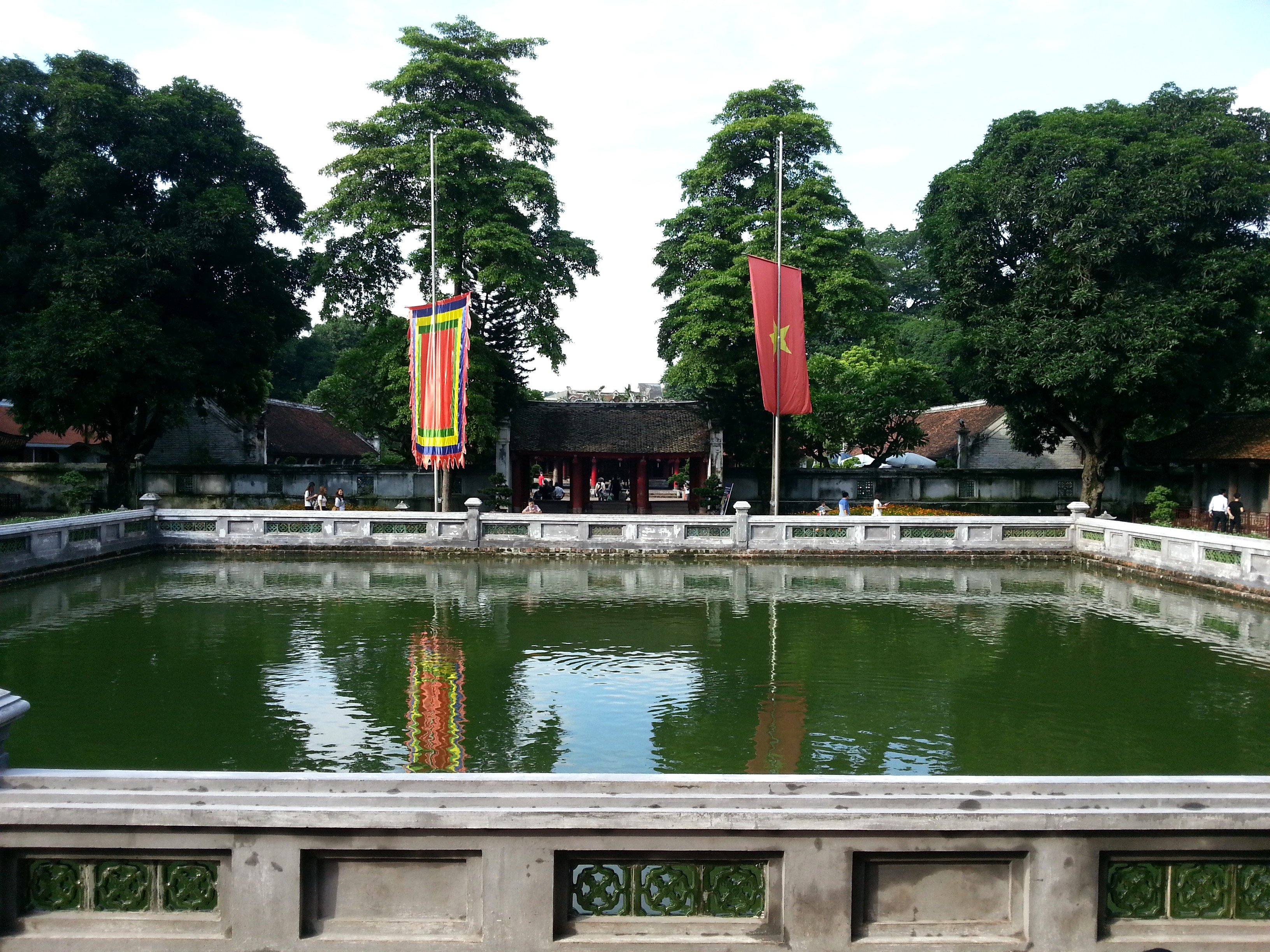 Thien Quang well in the Third Courtyard