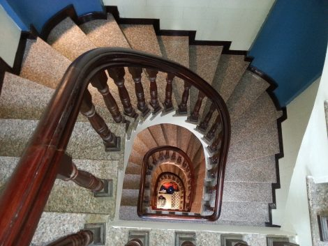 Staircase at the Prince II Hotel