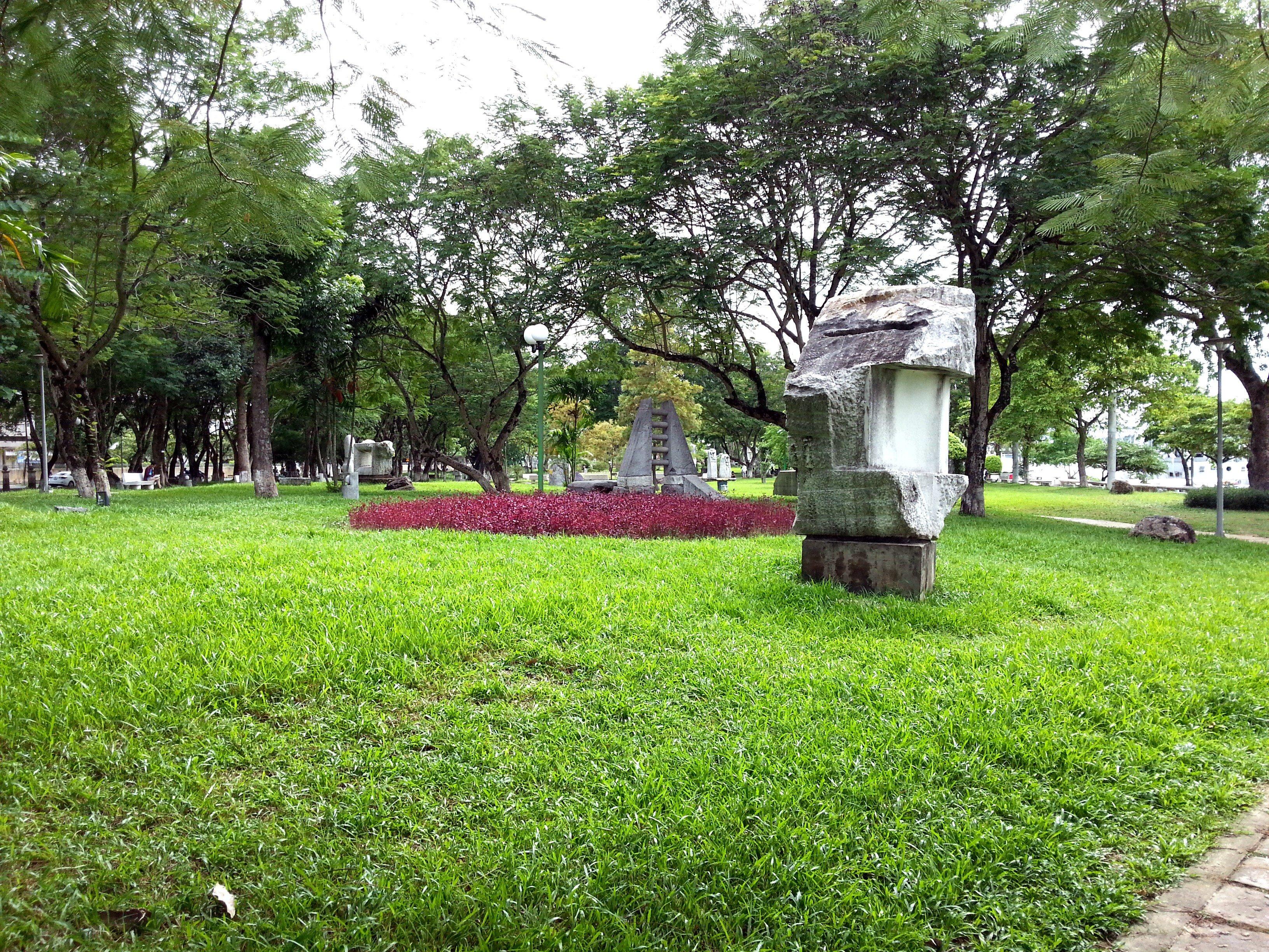 3 February Park in Hue