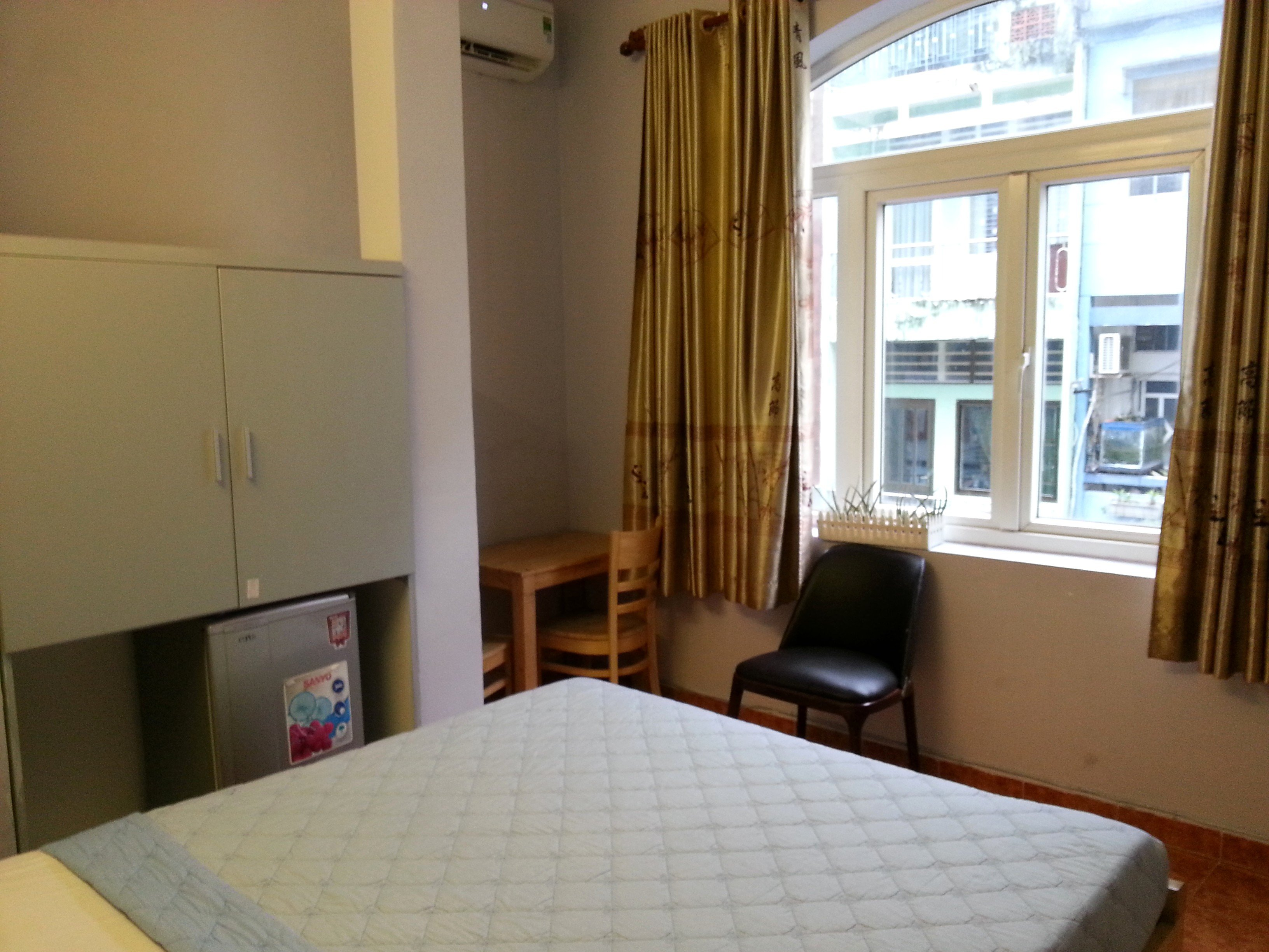 Bedroom at Ha Vy Hotel