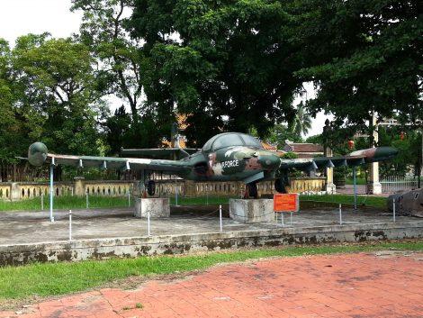 Cessna T-37 Tweet at Hue War Museum