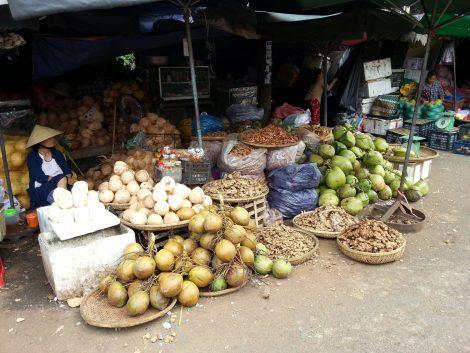 Coconuts at Dong Ba Market