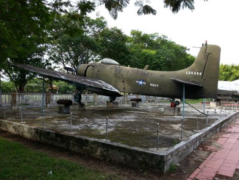 Douglas A-1 Skyraider at Hue War Museum