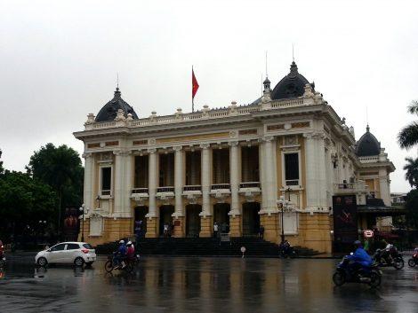Front of Hanoi Opera House