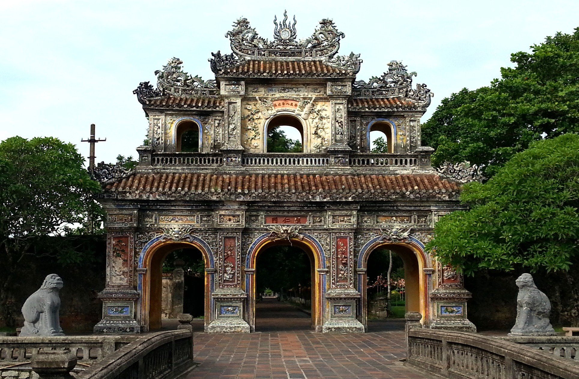 Hien Nhon Gate at the Imperial Citadel