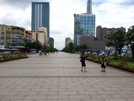Nguyen Hue pedestrian street in Ho Chi Minh City