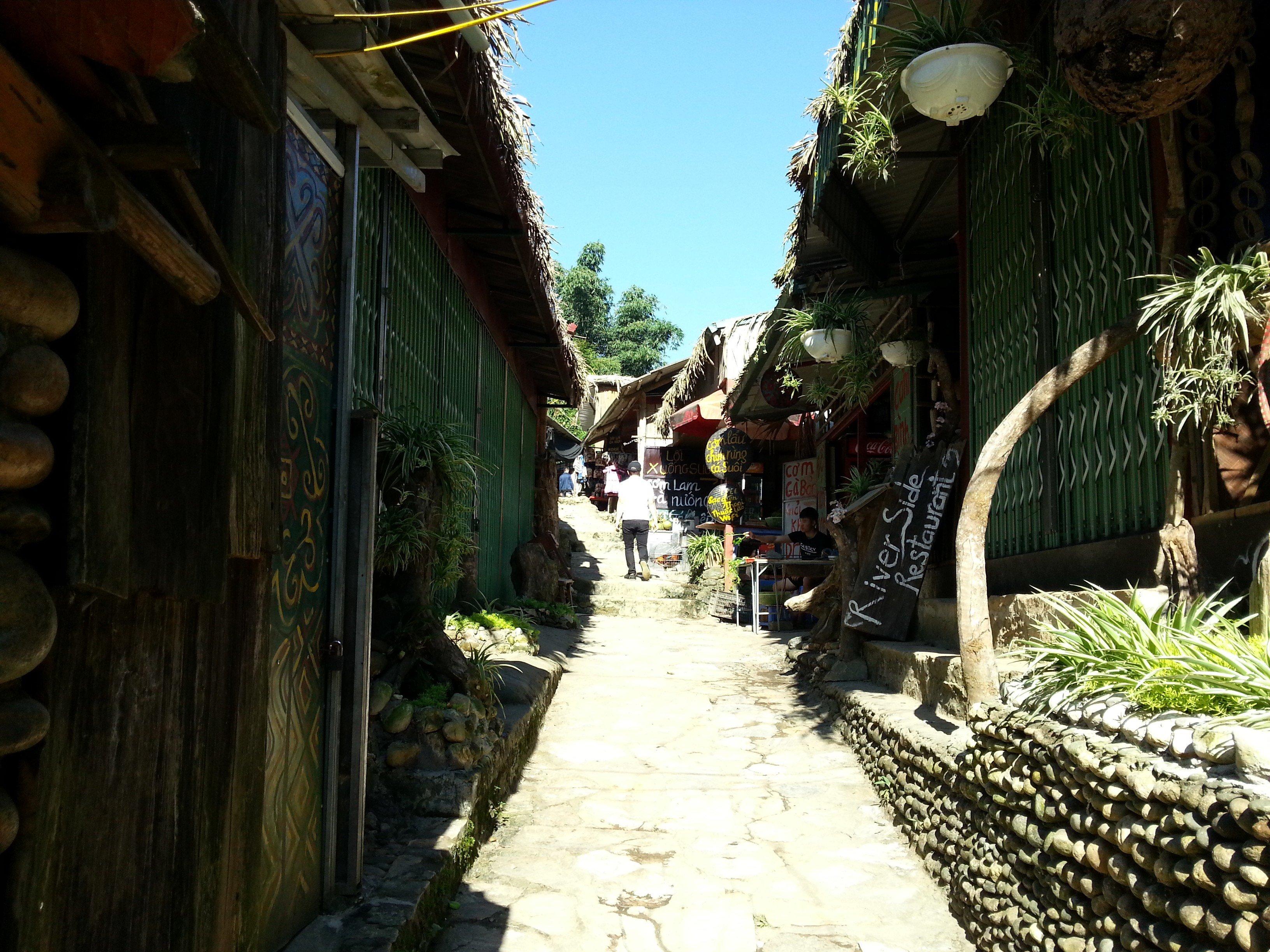 Street in Cat Cat Village