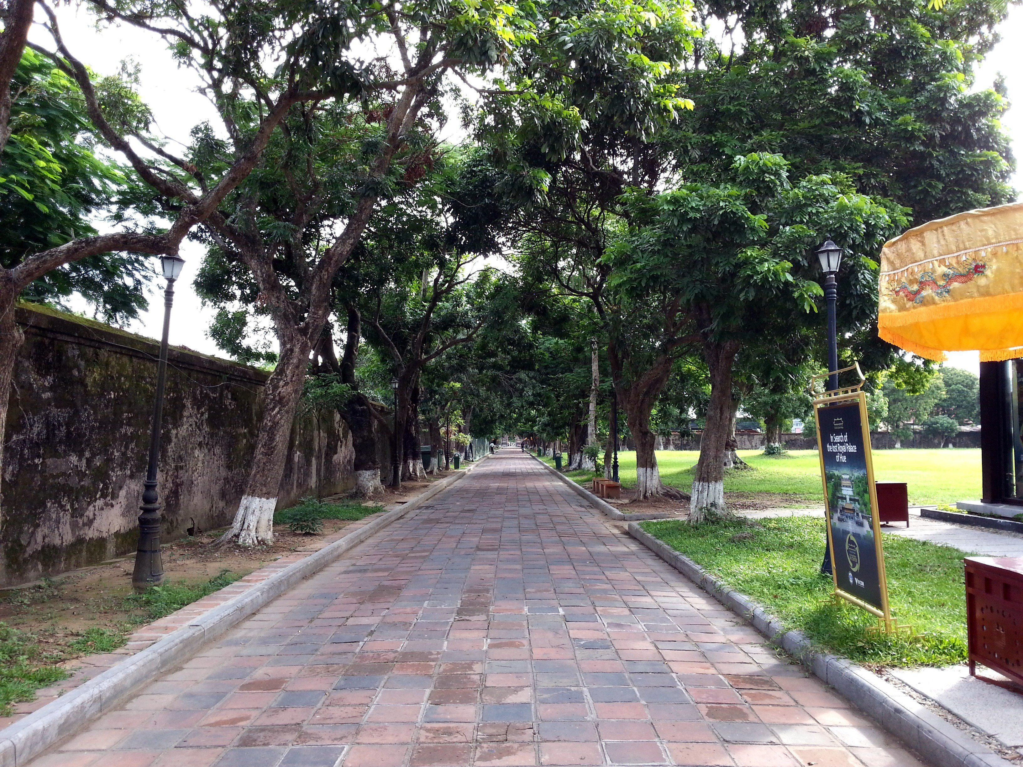 Walkway around the edge of the Imperial Citadel