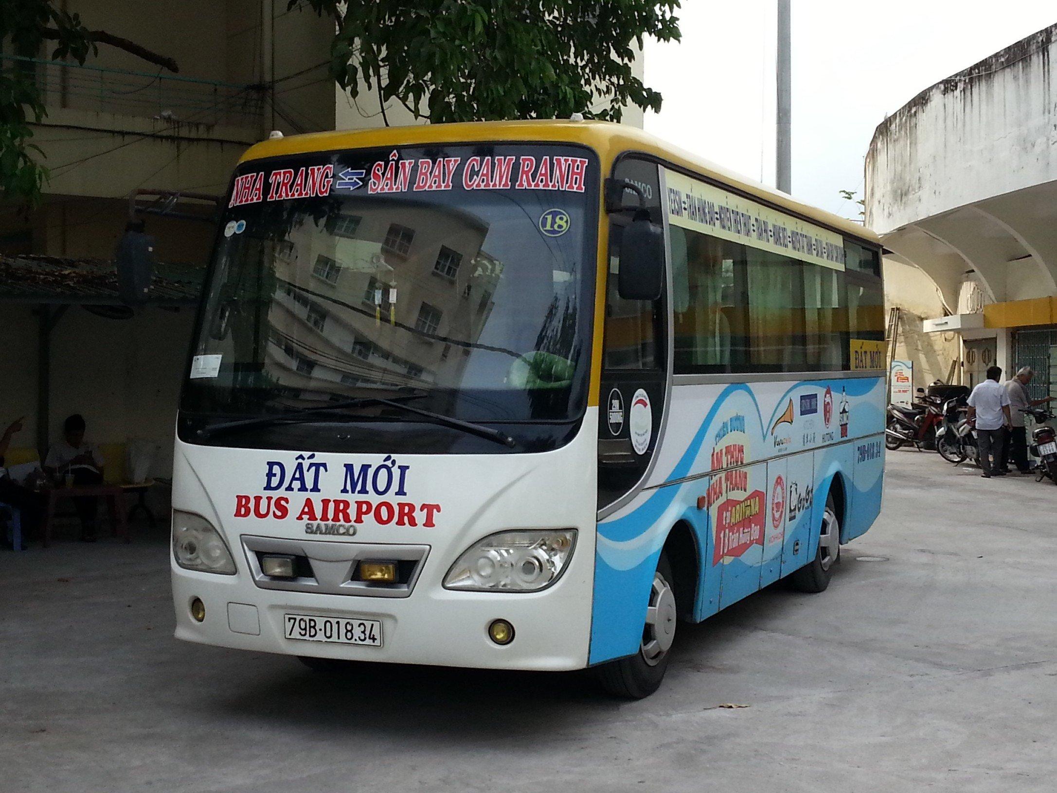 Bus from Nha Trang Town to Nha Trang Airport