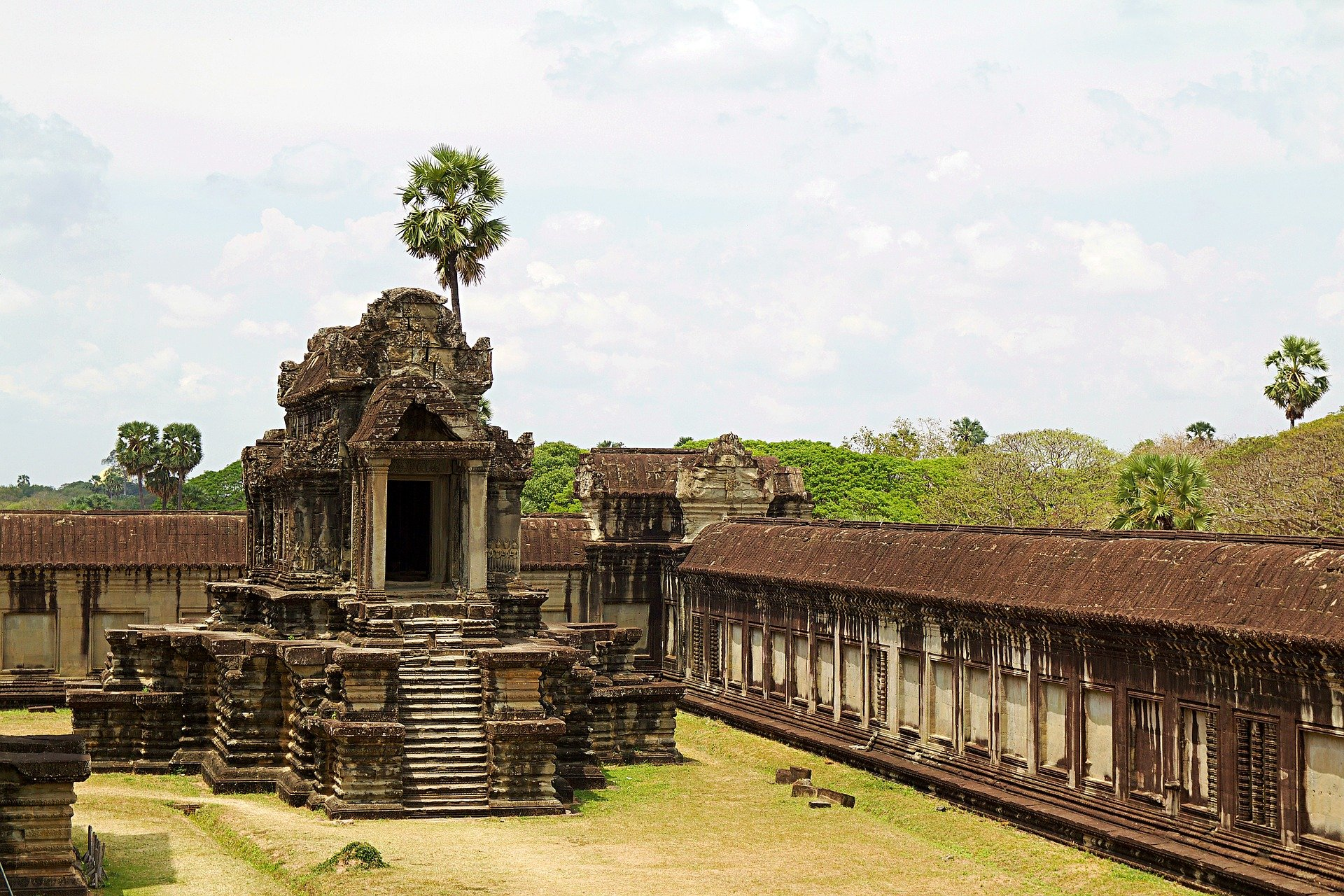 Angkor War near Siem Reap