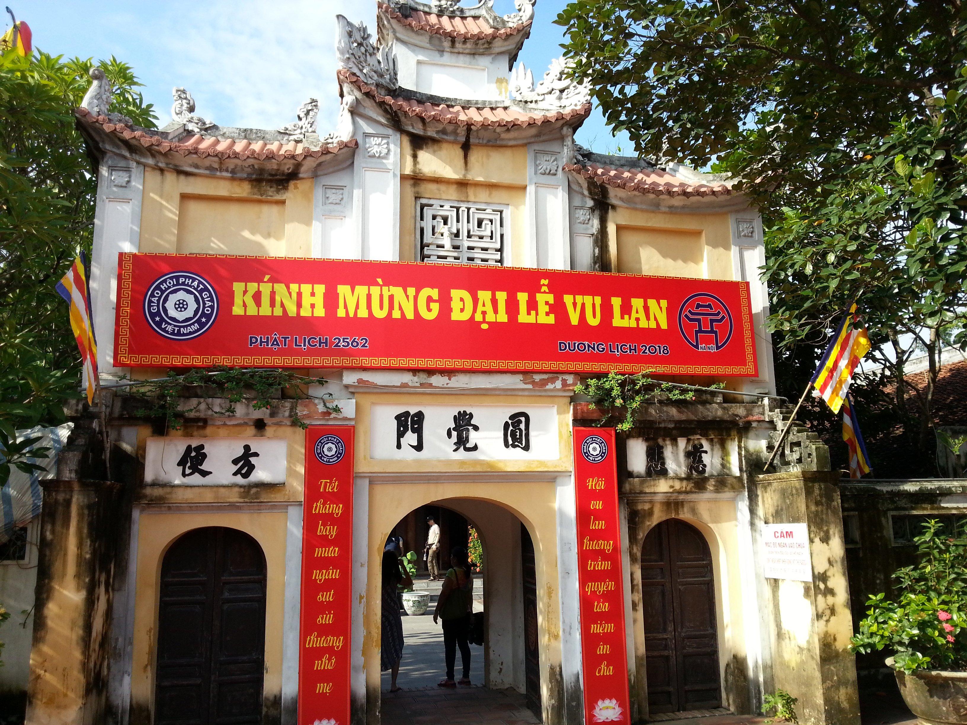 Chua Dien Huu Temple in Hanoi