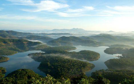 Fantastic scenery near Dalat