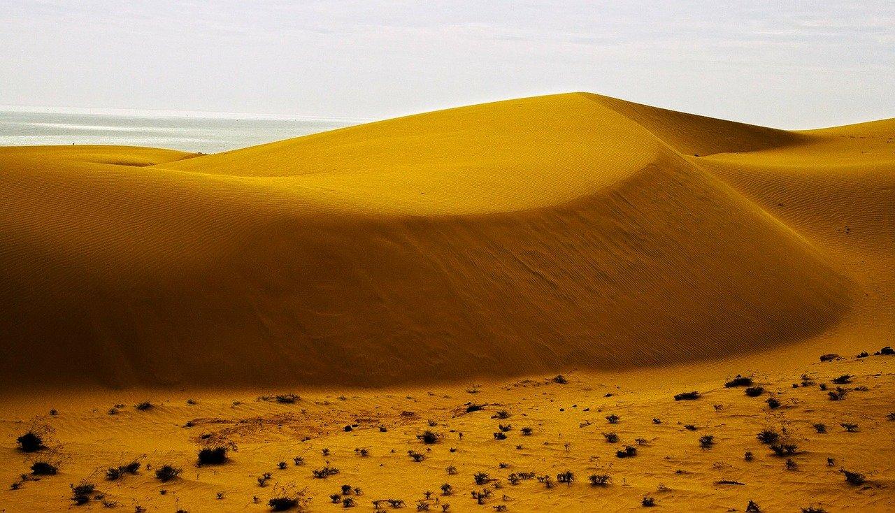 The sand dunes of Mui Ne