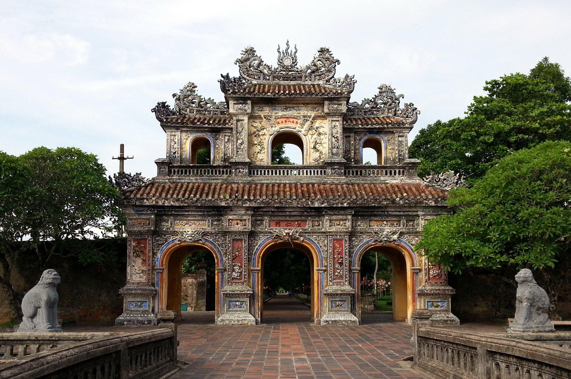 Imperial Citadel in Hue