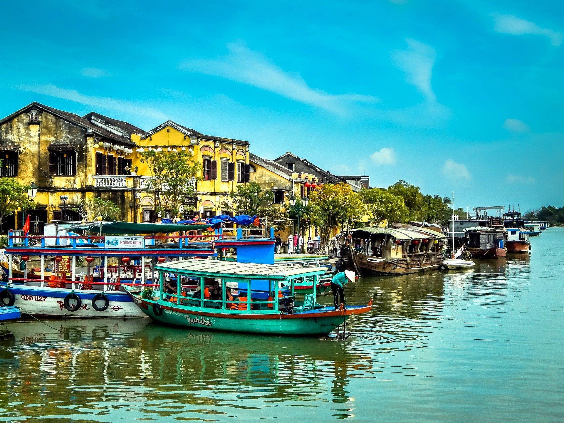 Riverside in Hoi An