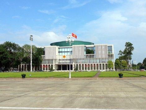 Vietnam Parliament Building in Hanoi