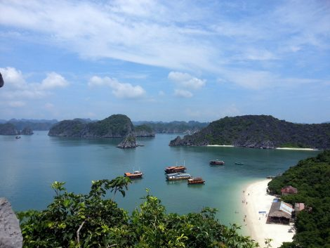 Boat trips from Cat Ba Island