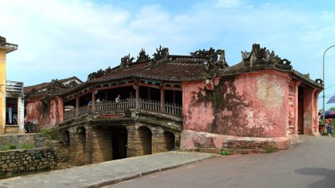 Bridge in the Old City of Hoi An