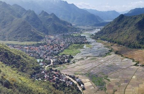 View over Mai Chau