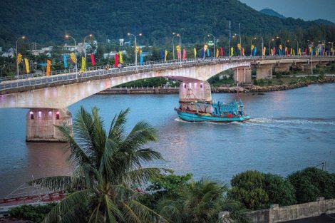 Ha Tien in Southern Vietnam