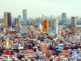 View over Da Nang City