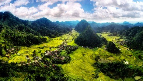 Bac Son Valley in Lang Son Province