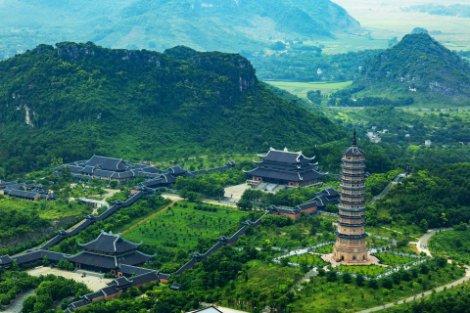 Bai Dinh Temple in Ninh Binh Province