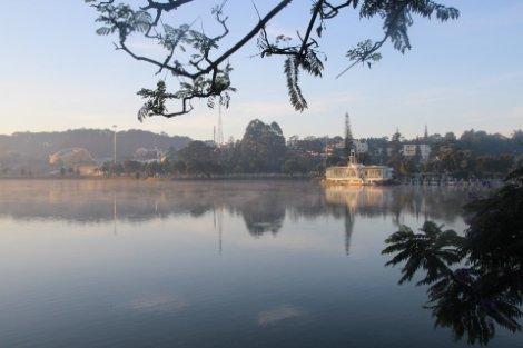 Xuan Huong Lake in Dalat
