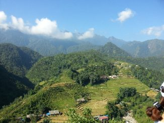 Mountain views in Sapa