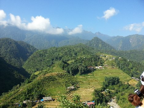 Mountain views in Sapa
