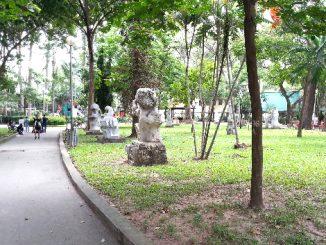 Tao Dan Park in Ho Chi Minh City