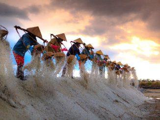 Hon Khoi Salt Fields near Nha Trang
